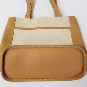 Coach Bags - Coach Tan Snap Closure Tote Bag